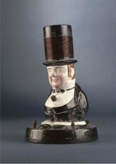 An 'Uncle Tom' crystal set,