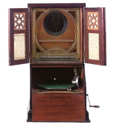 A Klingsor gramophone