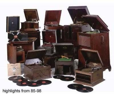 Cabinet gramophones: