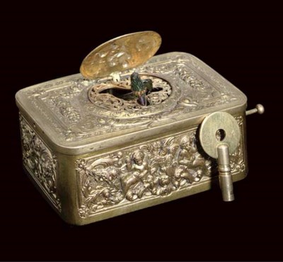 A German singing bird box