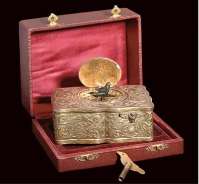 A singing bird box by Karl Gri