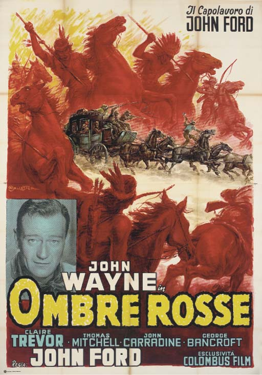 Stagecoach  Ombre Rosse