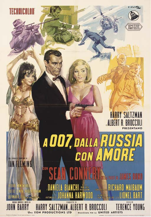 From Russia With Love  A 007,