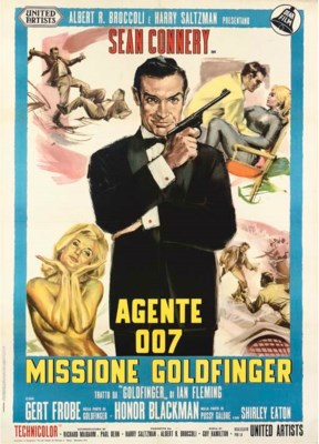 Goldfinger  Agente 007 Mission