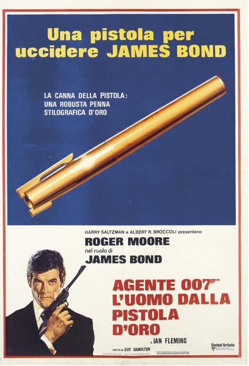 The Man With The Golden Gun  A