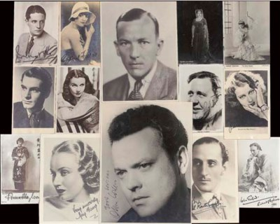 Film Stars And Entertainers