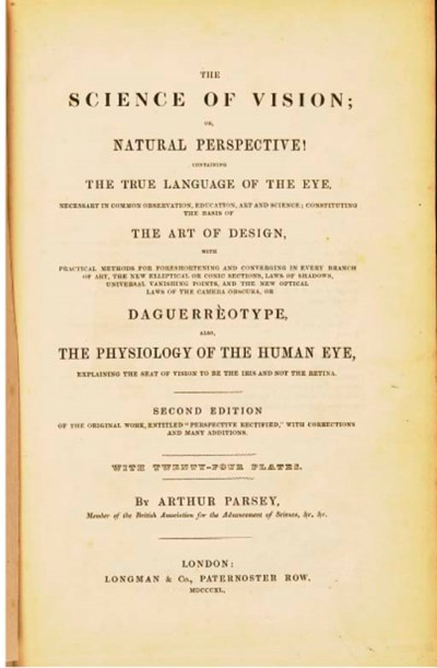 The Science of Vision or Natur