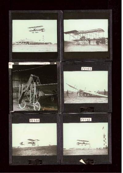 Aviation lantern slides