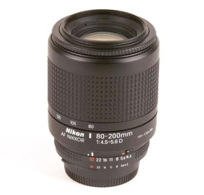 AF Nikkor D 80-200mm. f/4.5-5.