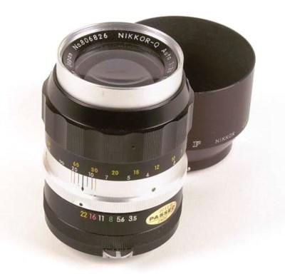 Nikkor-Q f/3.5 135mm. no. 8068