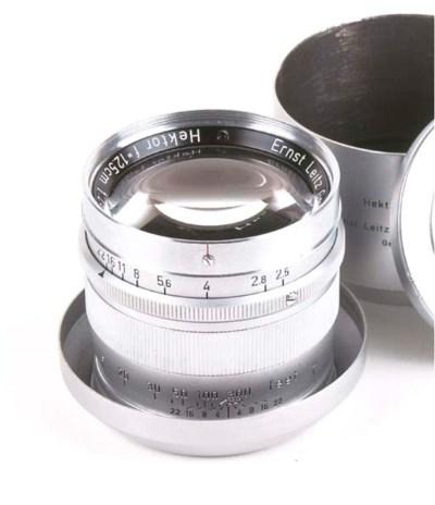 Hektor 12.5cm. f/2.5 no. 10512