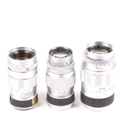 Screw-fit 9cm. lenses