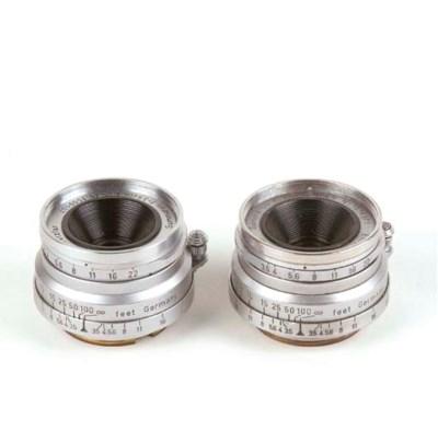 Summaron 3.5cm. f/3.5 lenses