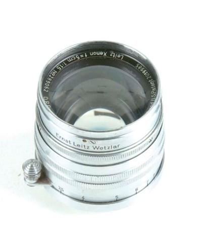 Xenon 5cm. f/1.5 no. 289062