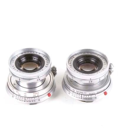 Elmar f/2.8 50mm. lenses