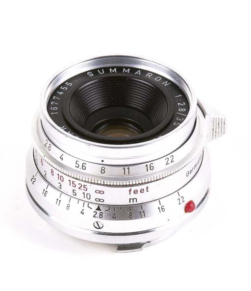 Summaron f/2.8 35mm. no. 16774
