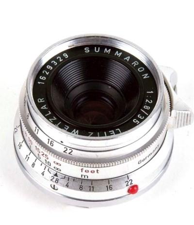 Summaron f/2.8 35mm. no. 16293
