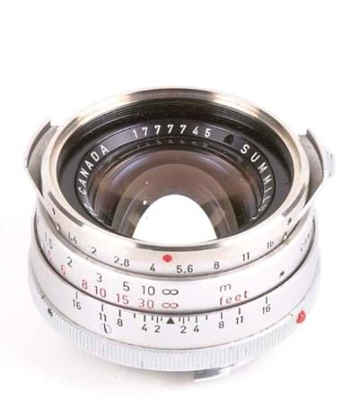 Summilux f/1.4 35mm. no. 17777