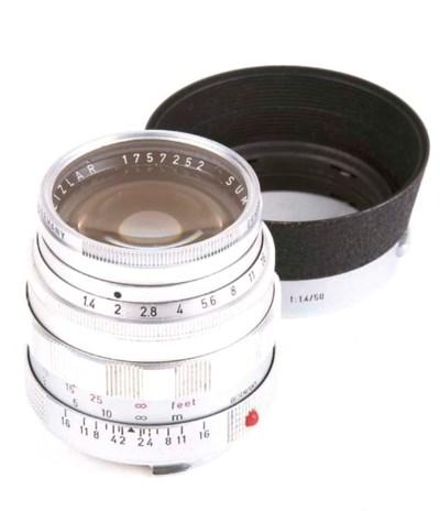Summilux f/1.4 50mm. no. 17572