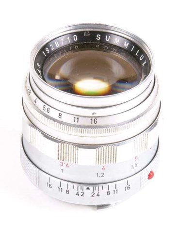 Summilux f/1.4 50mm. no. 19287