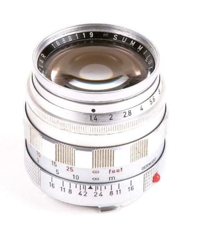 Summilux f/1.4 50mm. no. 16881