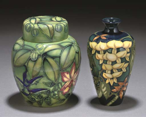 A MOORCROFT POTTERY RAINFOREST
