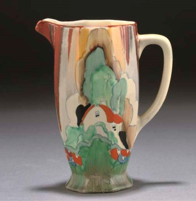 A CLARICE CLIFF FOREST GLEN AT