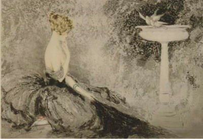 LOUIS ICART, 'WISTFULNESS'