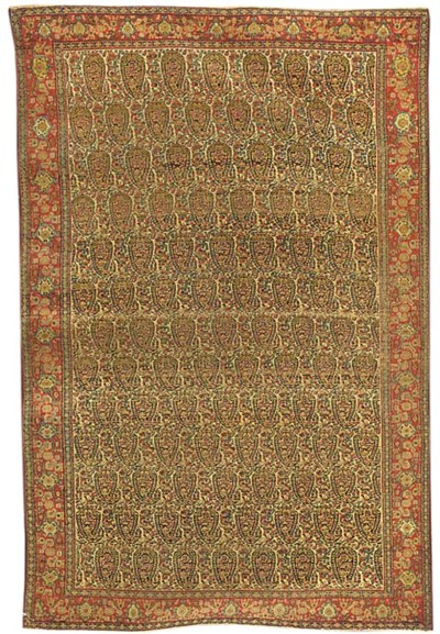 A very fine antique Senneh rug