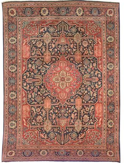 An unusual Tabriz carpet, Norh
