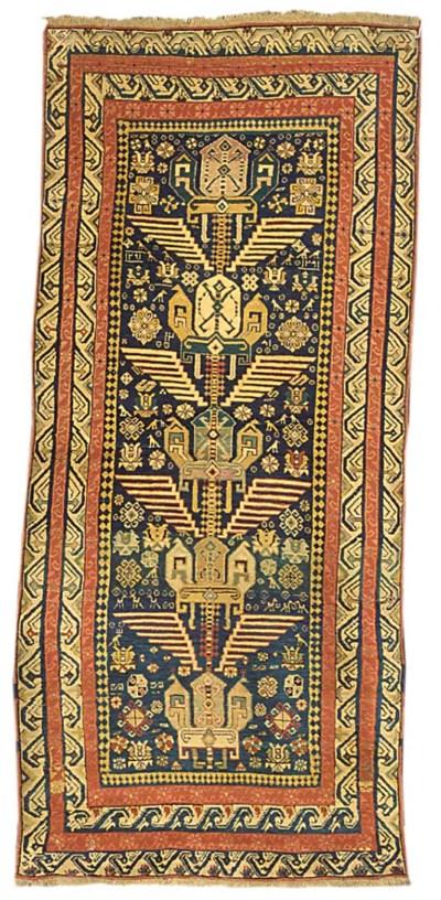 An antique Seychour rug, East