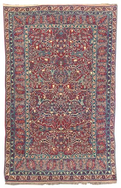 A fine Teheran rug, Noth Persi