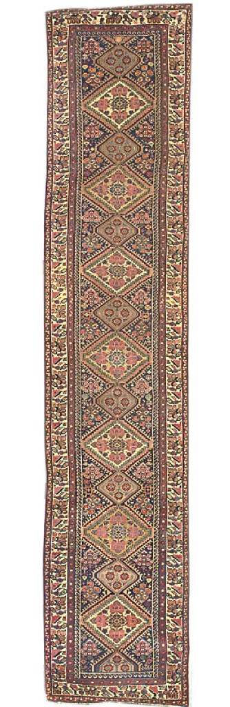 An antique Qashqai runner, Sou