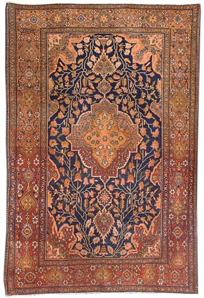 A fine Feraghan rug, West Pers