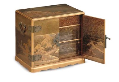 A JAPANESE GILT LACQUER TABLE