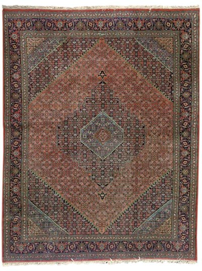 A fine Mansouri Bijar carpet