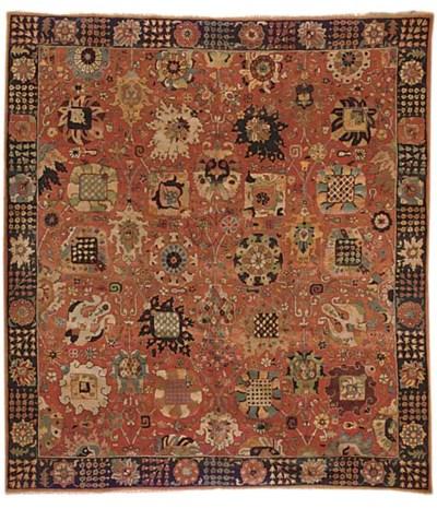 An European carpet of Tabriz d