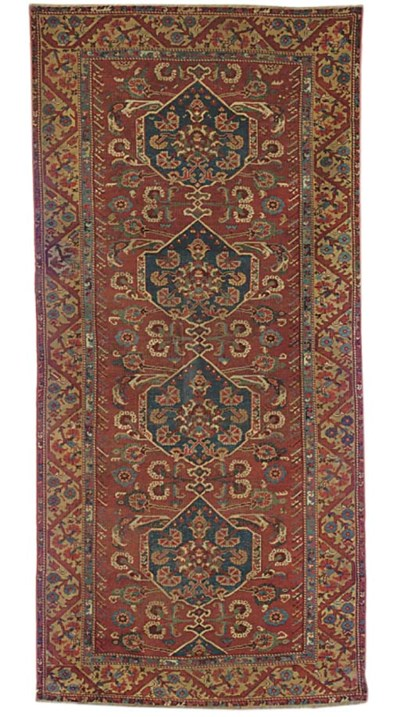 An antique Kula rug