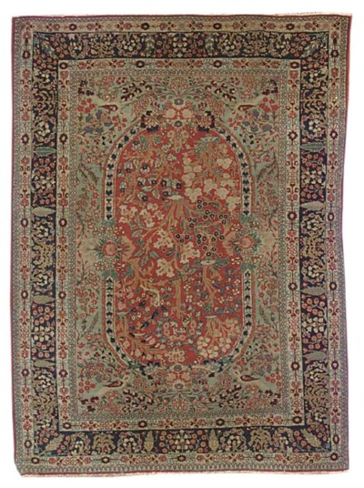 A fine Tabriz rug