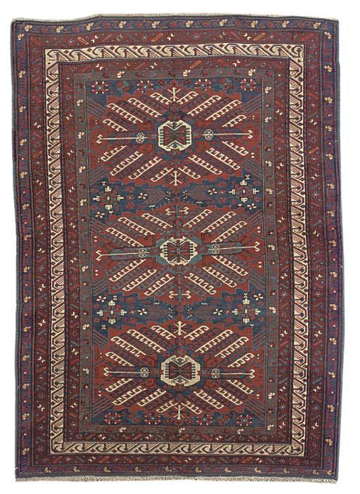An unusual fine Zejwa rug