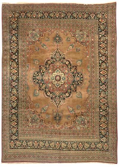 A fine Khorassan carpet