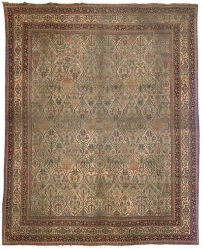 An antique Khorrasan carpet