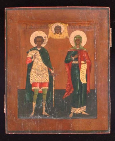 SAINTS DIMITRI AND PARASKEVA