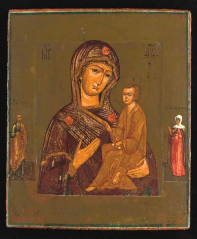TIKHVINSKAYA MOTHER OF GOD