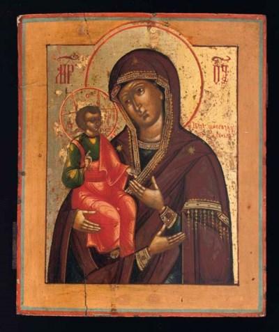 TROYERUCHITZA MOTHER OF GOD