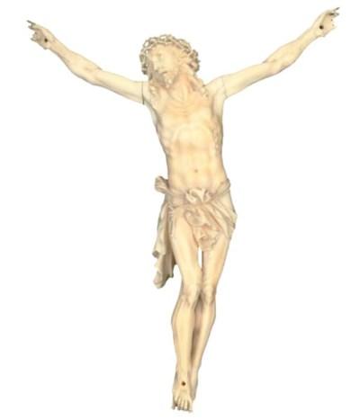 A DIEPPE IVORY CORPUS CHRISTIE