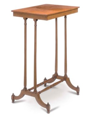 A REGENCY LACEWOOD OCCASIONAL