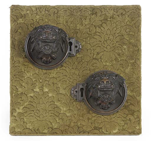 A PAIR OF VICTORIAN GOTHIC REV