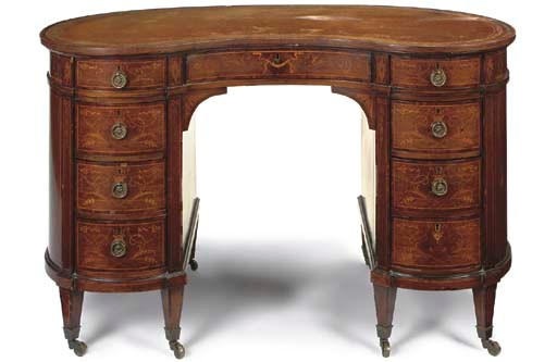 A LATE VICTORIAN ROSEWOOD KIDN
