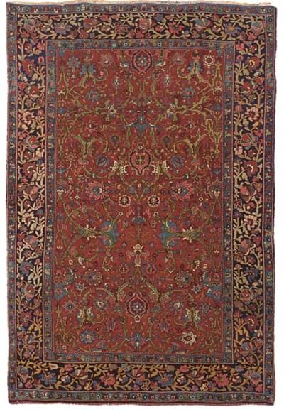 A fine Bidjar rug of Garrus de